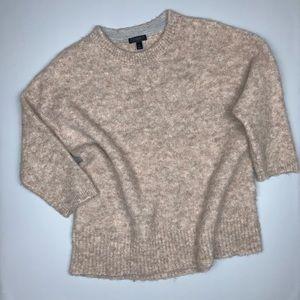 J. Crew Womens Alpaca Fuzzy Sweater Size Medium